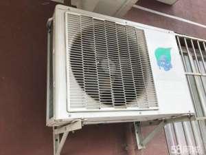 长虹空调柜式空调压缩机发出振动声