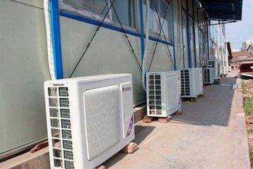 冬天使用空调的时候空调室外机冒白烟是什么原因?